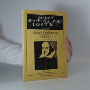 náhled knihy - Základy shakespearovské dramaturgie