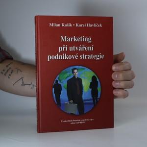 náhled knihy - Marketing při utváření podnikové strategie