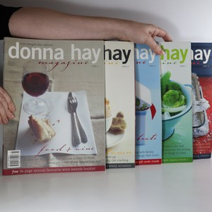 náhled knihy - Donna Hay Magazine číslo 10, 11, 12, 14 a 15