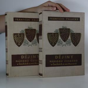 náhled knihy - Dějiny národu českého I-VI (2 svazky)
