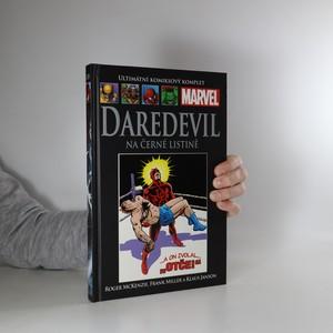 náhled knihy - Daredevil. Na černé listině