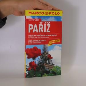 náhled knihy - Paříž. Doporučené tipy