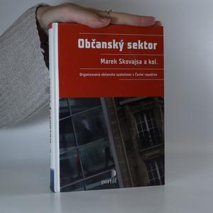 náhled knihy - Občanský sektor : organizovaná občanská společnost v České republice