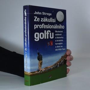 náhled knihy - Ze zákulisí profesionálního golfu