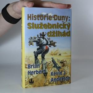 náhled knihy - Služebnický džihád. Historie Duny