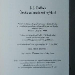antikvární kniha Člověk za hranicemi svých sil, 2007