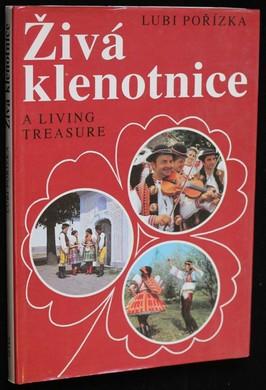 náhled knihy - Živá klenotnice : Folkloristické fotostudie z Čech, Moravy a Slovenska