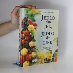 náhled knihy - Jedlo ako jed, jedlo ako liek