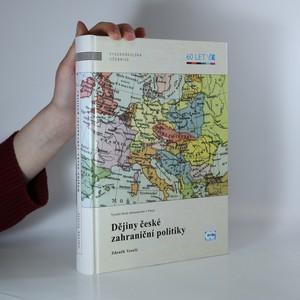 náhled knihy - Dějiny české zahraniční politiky