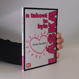 náhled knihy - A taková to byla láska
