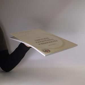 antikvární kniha Ekonomika veřejného sektoru, 2003