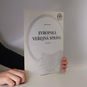 náhled knihy - Evropská veřejná správa