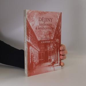 náhled knihy - Dějiny knihoven a knihovnictví