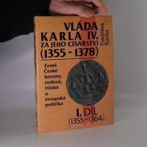 náhled knihy - Vláda Karla IV. za jeho císařství