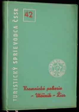 náhled knihy - Kremnické pohorie - Vtáčnik - Žiar