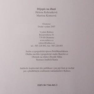 antikvární kniha Dějepis na dlani, 2007