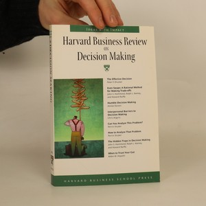 náhled knihy - Harvard business review on decision making.