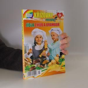 náhled knihy - Alfa křížovky s recepty - Jídla z hub a brambor
