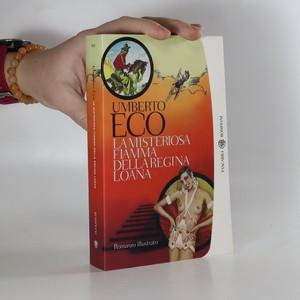 náhled knihy - La misteriosa fiamma della regina Loana : romanzo illustrato