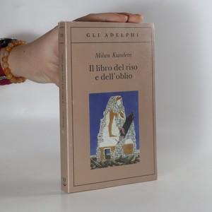 náhled knihy - Il libro del riso e dell'oblio (kniha zabalena)