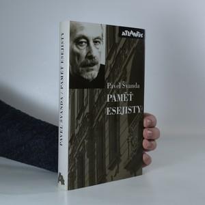 náhled knihy - Paměť esejisty