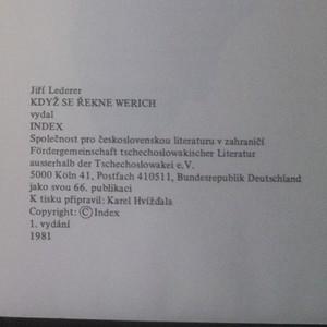 antikvární kniha Když se řekne Werich..., 1981