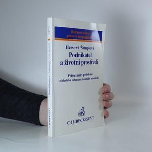 náhled knihy - Podnikatel a životní prostředí
