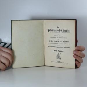 antikvární kniha Der Schattenspiel-Künstler, neuveden