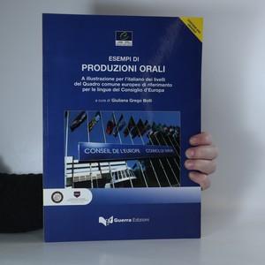 náhled knihy - Esempi di produzioni orali