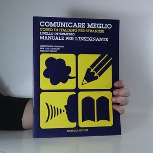 náhled knihy - Comunicare meglio