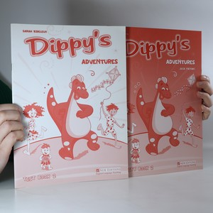 náhled knihy - Dippy's Adventures: Text book 2, Activity book 2 (2 svazky)