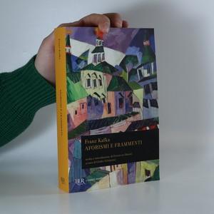 náhled knihy - Aforismi e frammenti