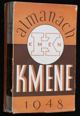 náhled knihy - Almanach Kmene 1948