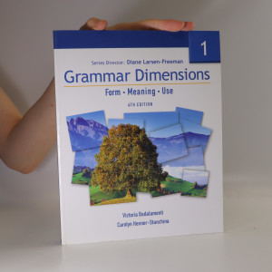 náhled knihy - Grammar Dimensions 1. Form, Meaning, Use