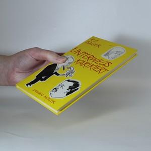antikvární kniha Unterwegs karikiert, neuveden