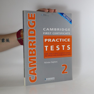 náhled knihy - Cambridge First Certificate Practice Tests - Teacher's