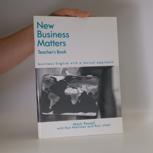 náhled knihy - New business matters. Business English with a lexical approach. Teacher's book