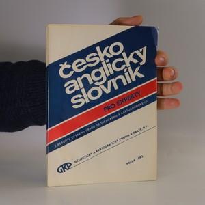 náhled knihy - Česko anglický slovník pro experty
