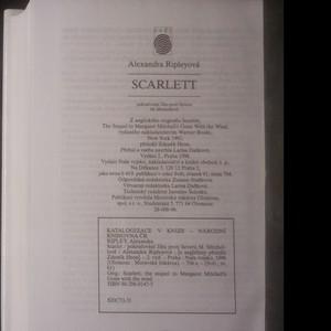 antikvární kniha Scarlett : Pokračování Jihu proti Severu M. Mitchellové, 1996