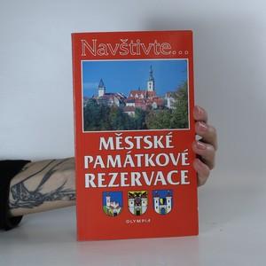 náhled knihy - Městské památkové rezervace