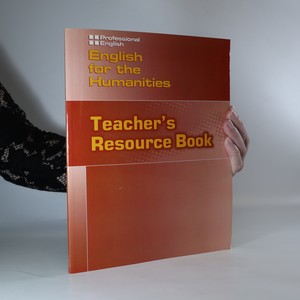 náhled knihy - English for the humanities. Teacher's resource book