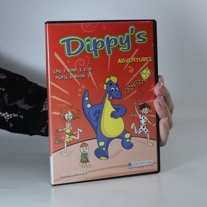 antikvární kniha Dippy's Adventures (včetně CD, 2 svazky, viz foto), 2007