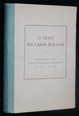 náhled knihy - O stavu současné biologie : Stenograf. zápis zased. Leninovy Všesvazové akademie zeměd. věd od 31.VII.-7.VIII.1948