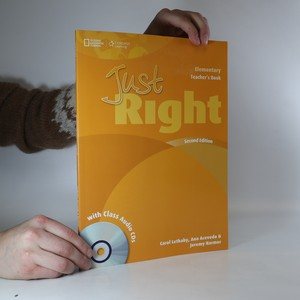 náhled knihy - Just Right. Teacher's Book. (2x CD).