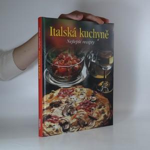 náhled knihy - Italská kuchyně. Nejlepší recepty