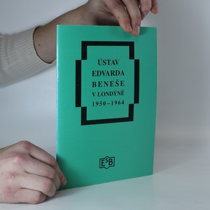 náhled knihy - Ústav Edvarda Beneše v Londýně 1950-1964
