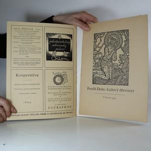 antikvární kniha Hollar. Sborník grafického umění (ročník XIX, čísla 1 - 4), 1943