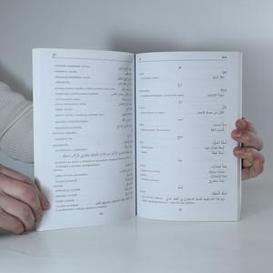 antikvární kniha Arabsko-český slovník ekonomické, obchodní a bankovní terminologie, 2004