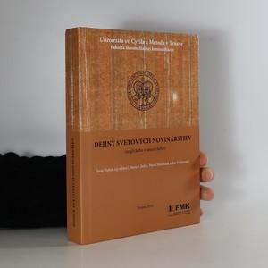 náhled knihy - Dejiny svetových novinárstiev : (anglického a amerického)