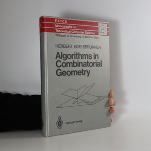 náhled knihy - Algorithms in Combinatorial Geometry